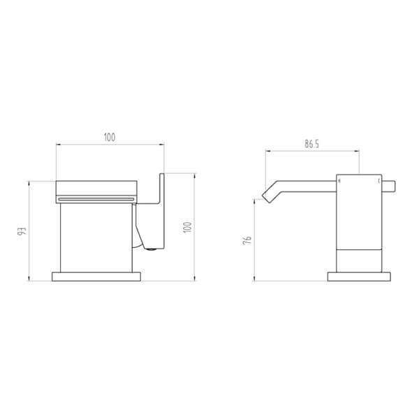 Technical drawing B3-28077 / BIQEST03