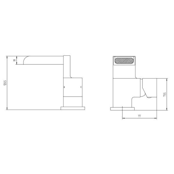 Technical drawing B3-28079 / BIQTR03