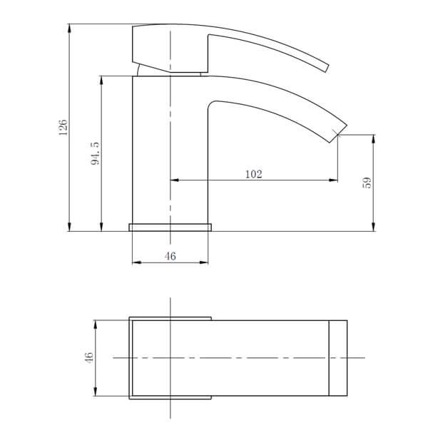 Technical drawing B3-28082 / BIQPU10