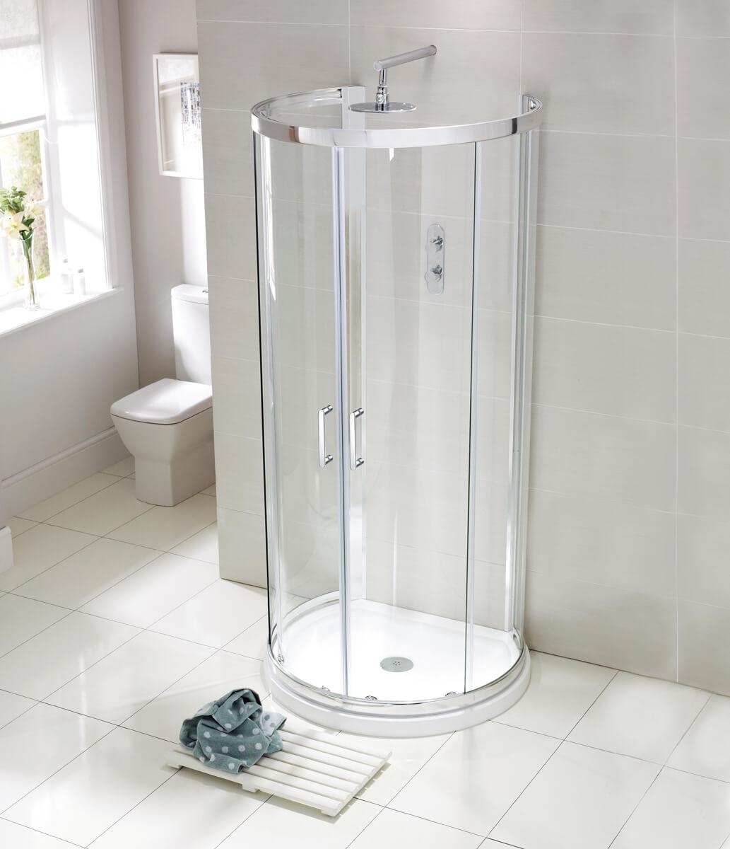 Frontline Aquaglass Purity 6mm D-Shaped Quadrant Enclosure