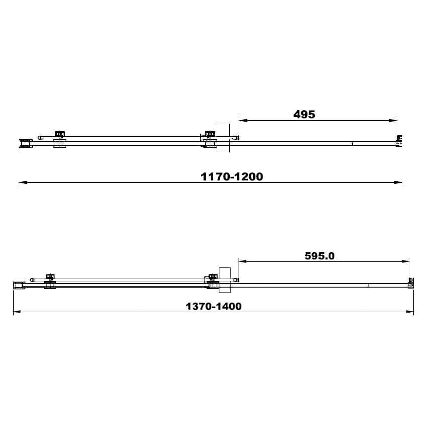 Technical drawing B3-24060 / BENDH9701-12
