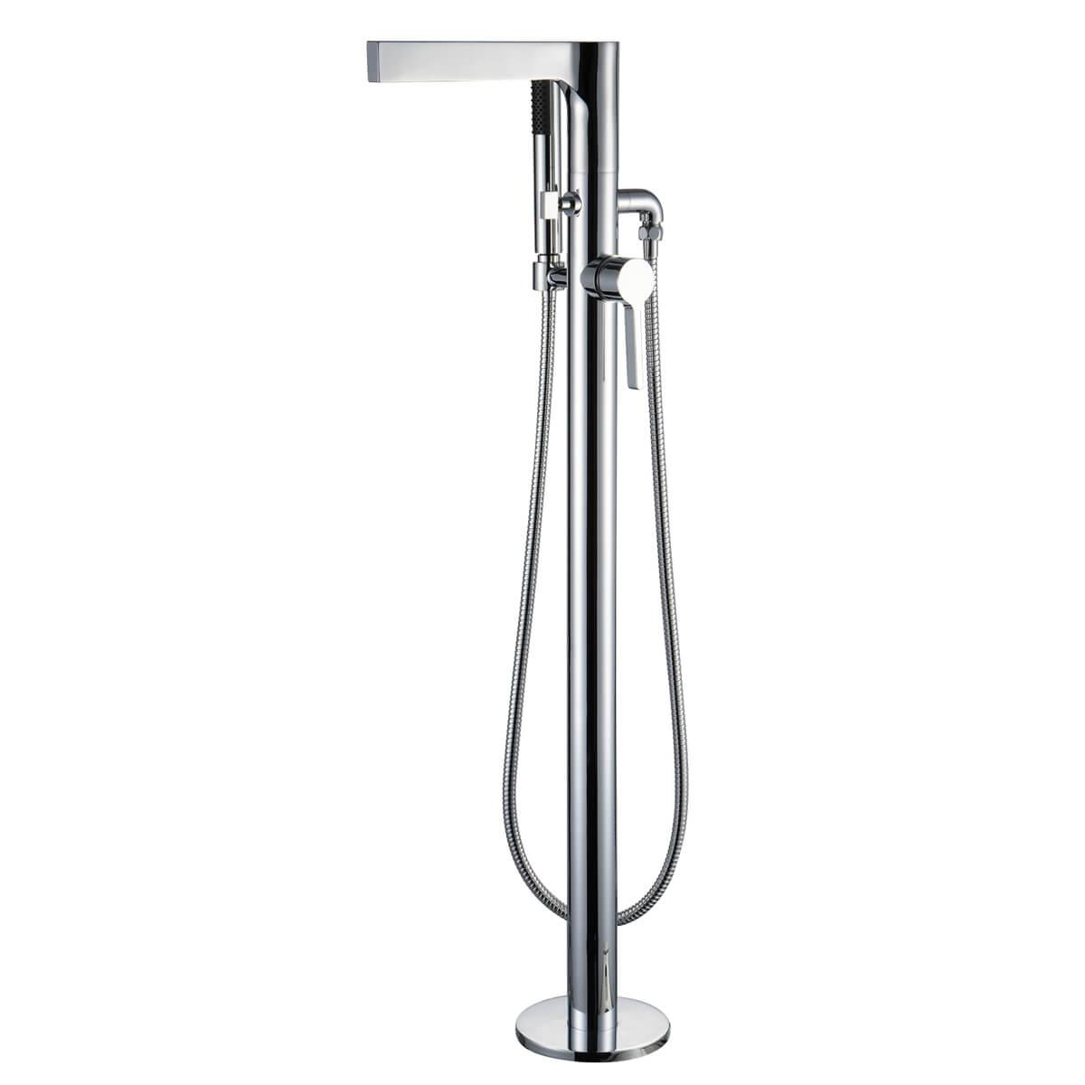 Frontline Gemini Freestanding Bath Shower Mixer Tap