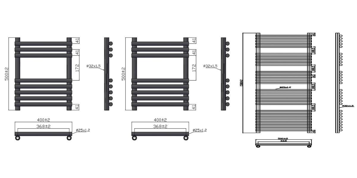 Technical drawing B3-30600 / 120965