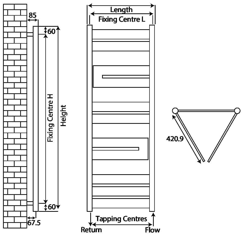 Technical drawing B3-27530 / RXAF-1400500-ch