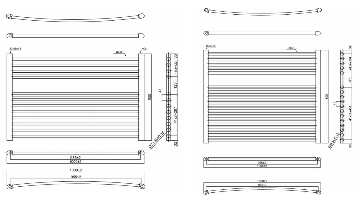 Technical drawing B3-28271 / HZ6001000