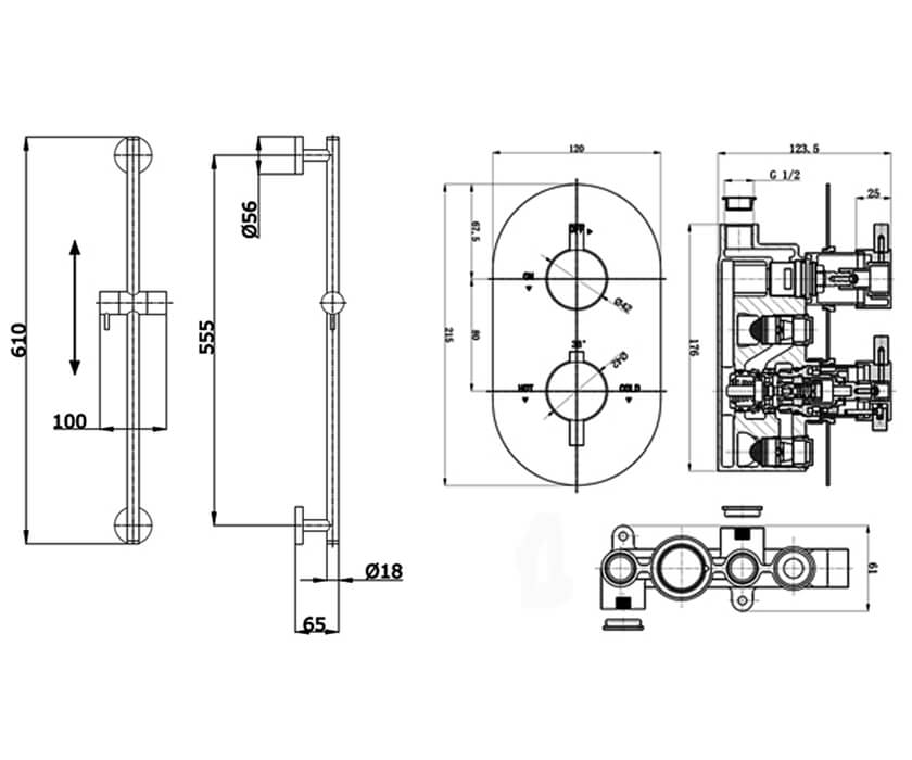 Technical drawing B3-28147 / BIQBSP3