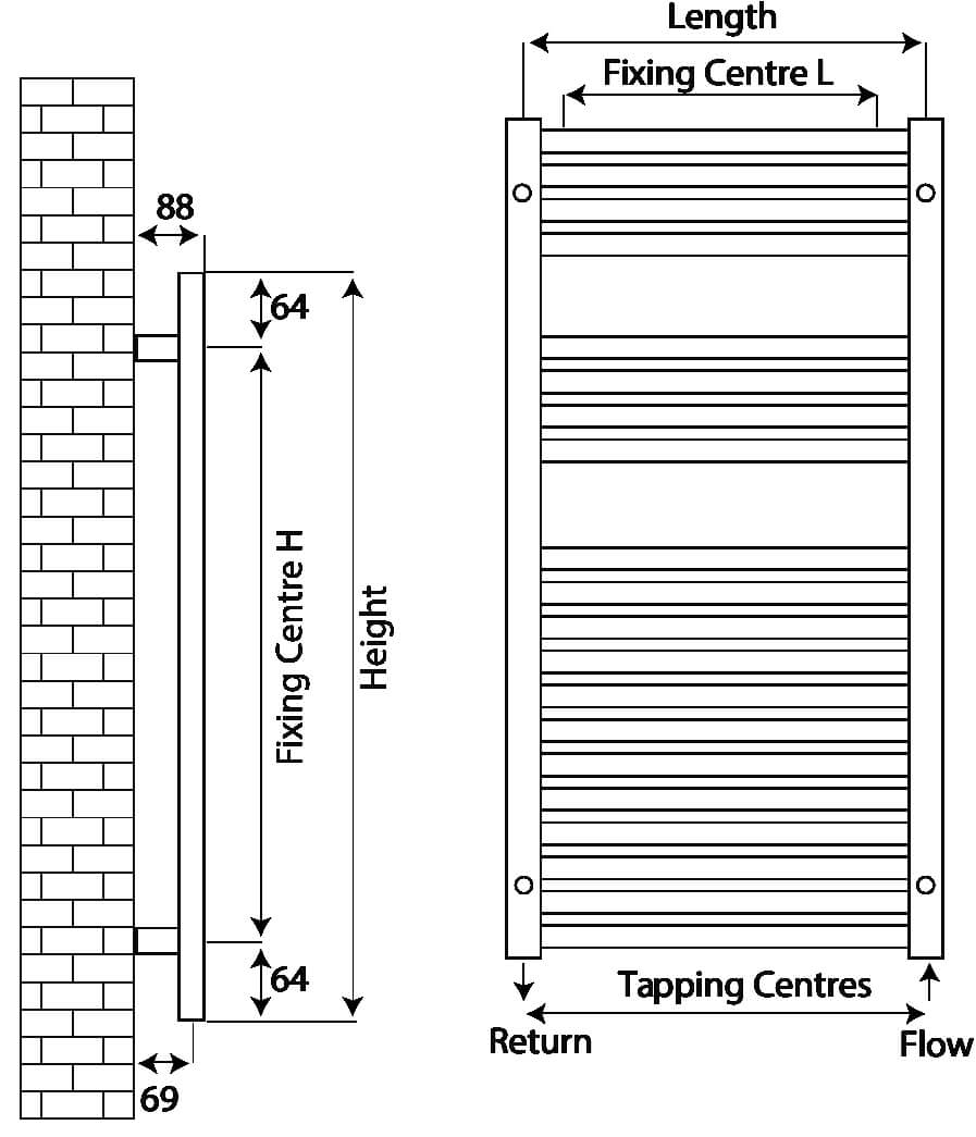 Technical drawing B3-27519 / RXPS-0800600-ss