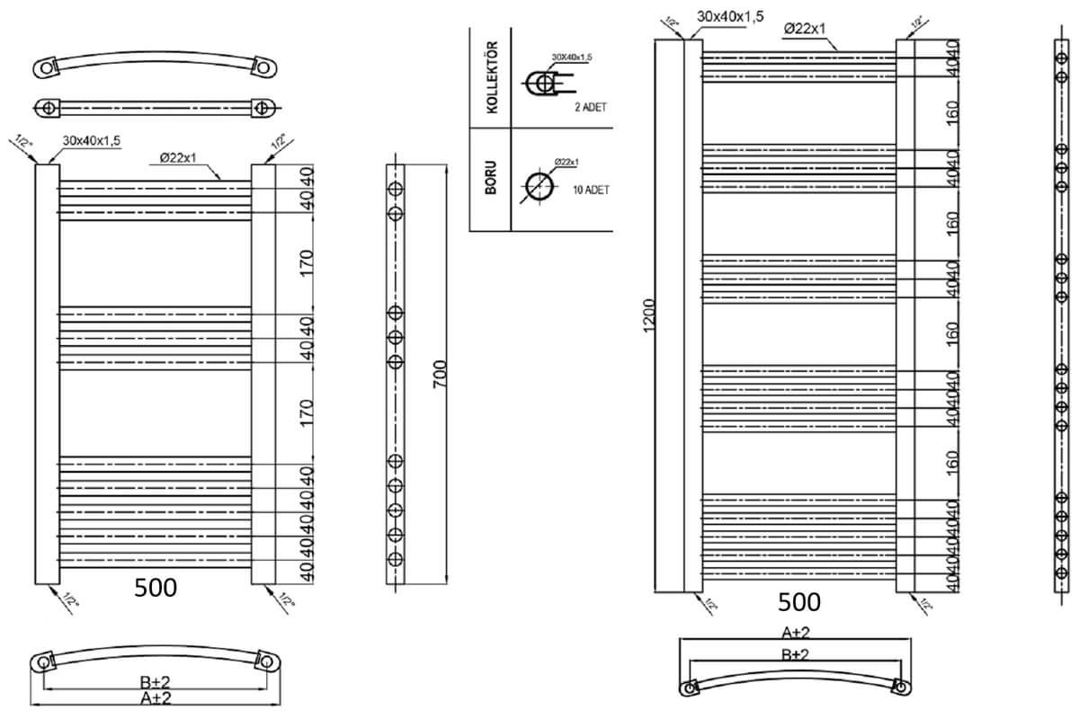 Technical drawing B3-30592 / PICC8050
