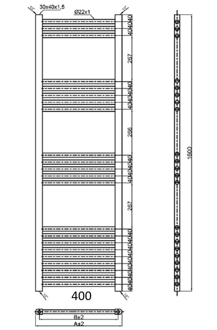 Technical drawing B3-30588 / PICS7040